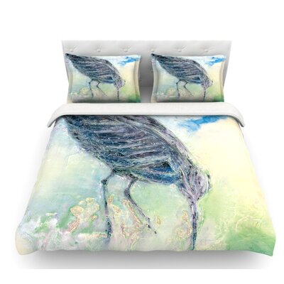 Feast by Josh Serafin Featherweight Duvet Cover Size: Queen
