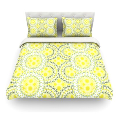 Blossoming Buds by Miranda Mol Featherweight Duvet Cover Size: Queen, Fabric: Cotton