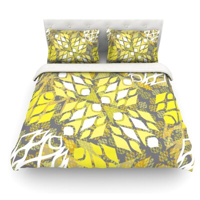 Sandy Signs by Miranda Mol Featherweight Duvet Cover Size: Full/Queen, Fabric: Woven Polyester