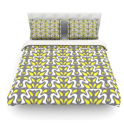 Cascade by Miranda Mol Featherweight Duvet Cover Size: Twin, Fabric: Lightweight Polyester