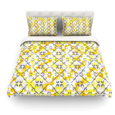 Effloresco by Miranda Mol Featherweight Duvet Cover Size: King, Fabric: Lightweight Polyester