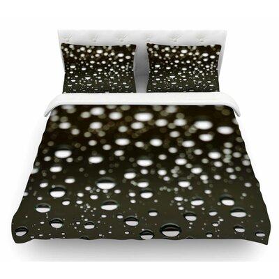 Rain by Kristi Jackson Bokeh Featherweight Duvet Cover Size: Queen