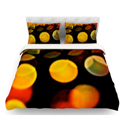 Lights by Maynard Logan Featherweight Duvet Cover Size: King