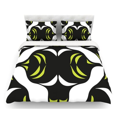 Jaws by Miranda Mol Featherweight Duvet Cover Size: King, Fabric: Woven Polyester
