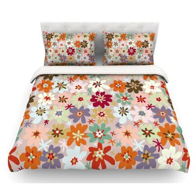 Sophie by Laura Escalante Featherweight Duvet Cover Size: Queen, Fabric: Lightweight Polyester