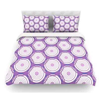 Labyrinth by Louise Featherweight Duvet Cover Size: Twin, Fabric: Lightweight Polyester