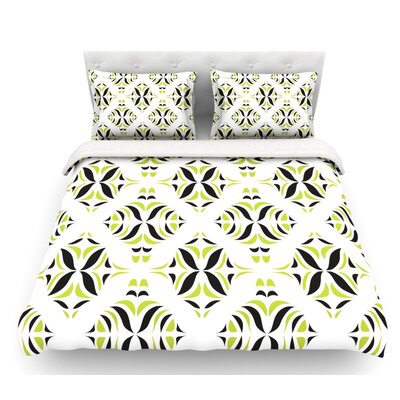 Rainforest by Miranda Mol Featherweight Duvet Cover Size: Full/Queen, Fabric: Woven Polyester