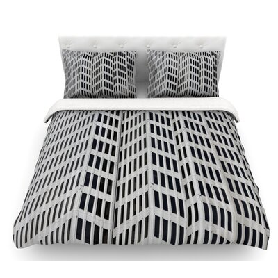 The Grid by Maynard Logan Featherweight Duvet Cover Size: Twin
