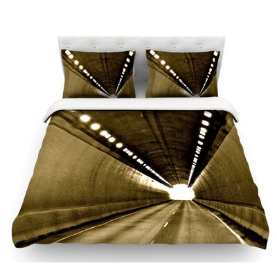 Tunnel by Maynard Logan Featherweight Duvet Cover Size: King, Fabric: Lightweight Polyester
