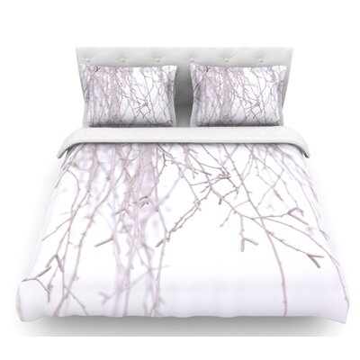 Frozen by Monika Strigel Featherweight Duvet Cover Size: Queen