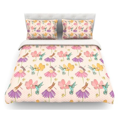 Magic Garden by Laura Escalante Featherweight Duvet Cover Size: Queen