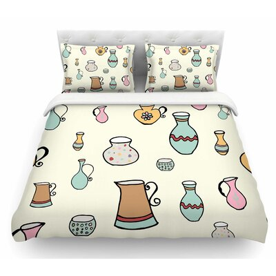 Jugs by Louise Featherweight Duvet Cover Size: Queen