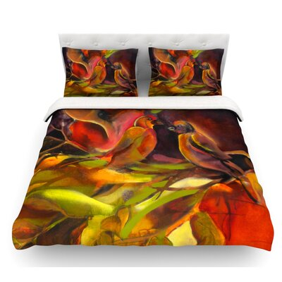 Mirrored in Nature by Kristin Humphrey Featherweight Duvet Cover Size: Twin