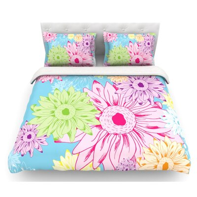 Summer Time by Laura Escalante Featherweight Duvet Cover Size: King