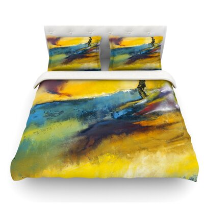 Sano by Josh Serafin Surf Featherweight Duvet Cover Size: King