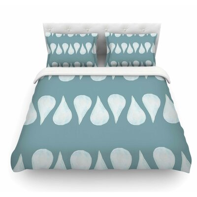 Altered Raindrops by Jennifer Rizzo Abstract Featherweight Duvet Cover Size: Twin