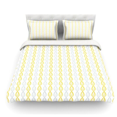 Pod by Julie Hamilton Featherweight Duvet Cover Size: Twin