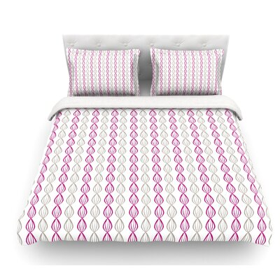 Plum Pod by Julie Hamilton Featherweight Duvet Cover Size: King/California King, Fabric: Woven Polyester