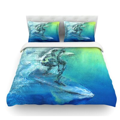 September High by Josh Serafin Featherweight Duvet Cover Size: Queen