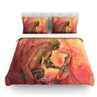 Catch the Wind by Josh Serafin Featherweight Duvet Cover Size: Queen
