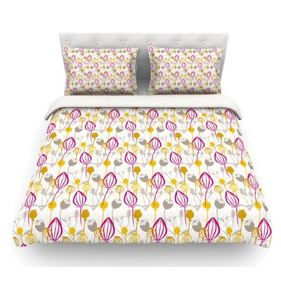 Mulberry by Julie Hamilton Featherweight Duvet Cover Size: King, Fabric: Cotton