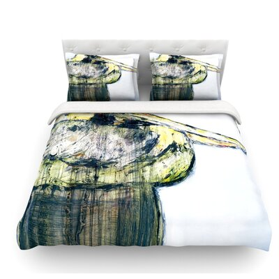 Oldtimer by Josh Serafin Bird Featherweight Duvet Cover Size: Twin