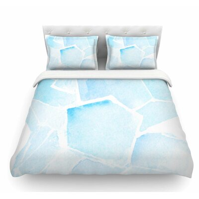 Quartz by Jennifer Rizzo Featherweight Duvet Cover Size: Twin