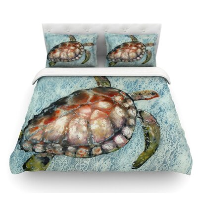 Home Bound by Josh Serafin Featherweight Duvet Cover Size: Twin