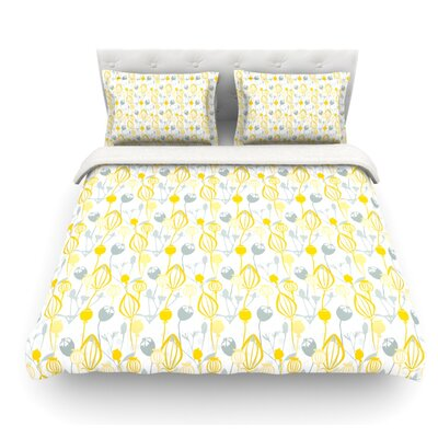 Willow Wisp by Julie Hamilton Featherweight Duvet Cover Size: Twin