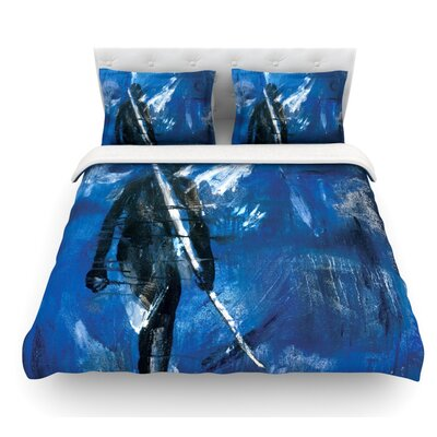 Release by Josh Serafin Featherweight Duvet Cover Size: Queen, Fabric: Woven Polyester