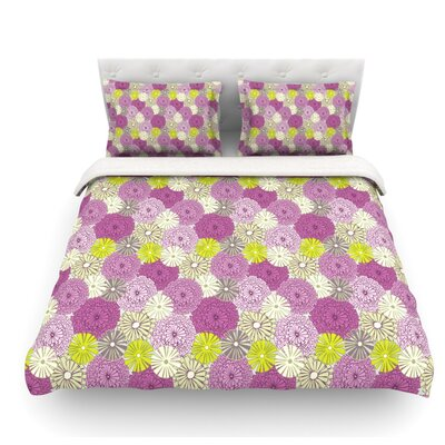 Rhapsody by Julie Hamilton Featherweight Duvet Cover Size: Queen, Fabric: Woven Polyester