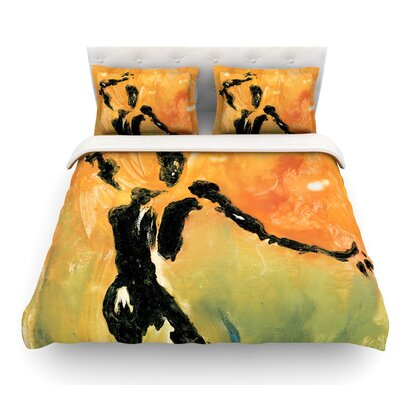 Hangin 5 by Josh Serafin Featherweight Duvet Cover Size: Twin
