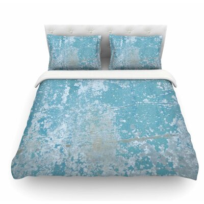Galvanized by Jennifer Rizzo Vintage Featherweight Duvet Cover Size: King