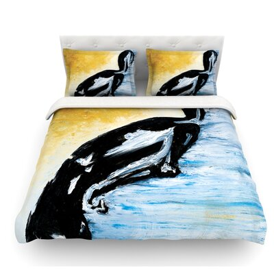 Hangin 10 by Josh Serafin Featherweight Duvet Cover Size: Twin