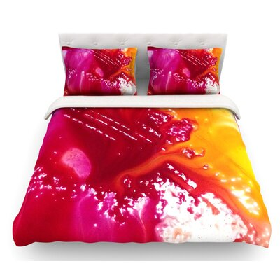 The Color River by Malia Shields Featherweight Duvet Cover Size: Queen