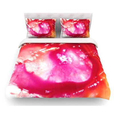 The Color River II by Malia Shields Featherweight Duvet Cover Size: Queen