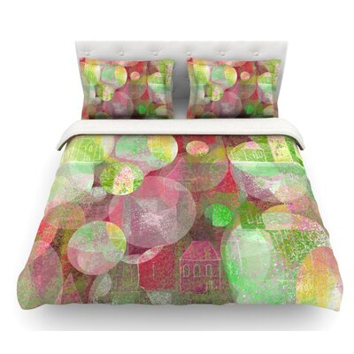 Dream Place by Marianna Tankelevich Featherweight Duvet Cover Size: Twin, Fabric: Woven Polyester