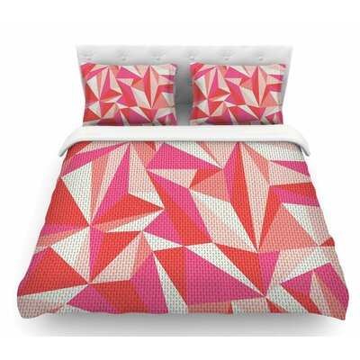 Stitched Pieces by MaJoBV Featherweight Duvet Cover Size: King
