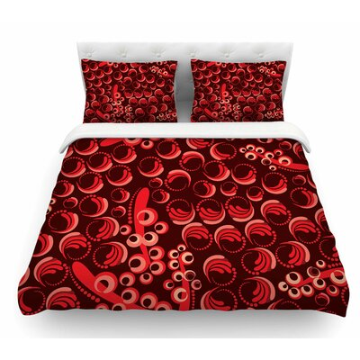 Berry by Maria Bazarova Featherweight Duvet Cover Size: Queen