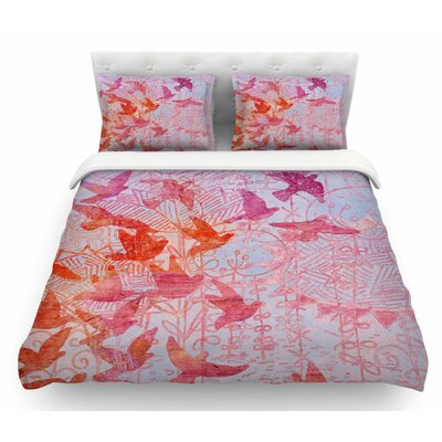 Birds Dream by Marianna Tankelevich Featherweight Duvet Cover Size: King