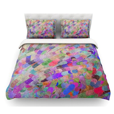 Abstract by Marianna Tankelevich Featherweight Duvet Cover Size: King