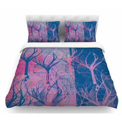 Fantasy Garden by Marianna Tankelevich Featherweight Duvet Cover Size: Queen