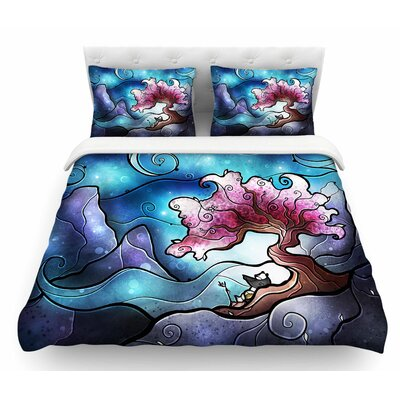 You Must Believe by Mandie Manzano Featherweight Duvet Cover Size: Twin