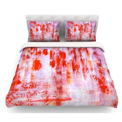 Painted Cityscape by Malia Shields Featherweight Duvet Cover Size: Queen