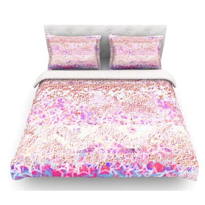 Broken by Marianna Tankelevich Featherweight Duvet Cover Size: King, Fabric: Cotton