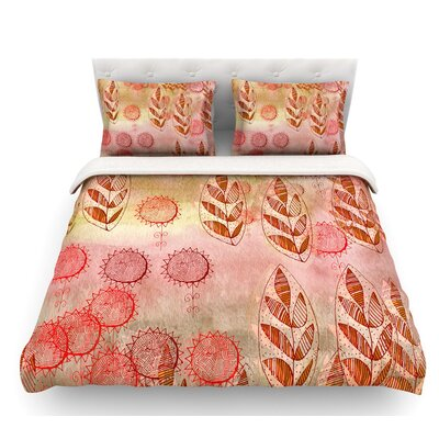 Summer Music by Marianna Tankelevich Featherweight Duvet Cover Size: King