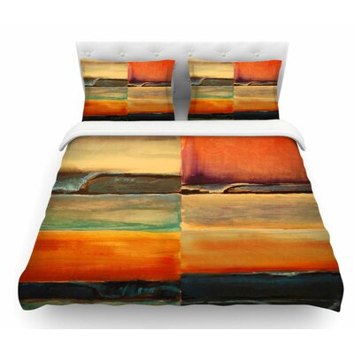 Fournication by Nathan Gibbs Featherweight Duvet Cover Size: Twin