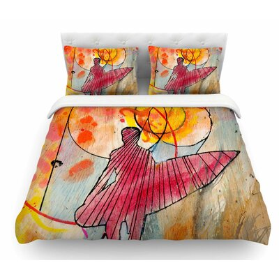 The Earth Shows Its End by Nathan Gibbs Featherweight Duvet Cover Size: King