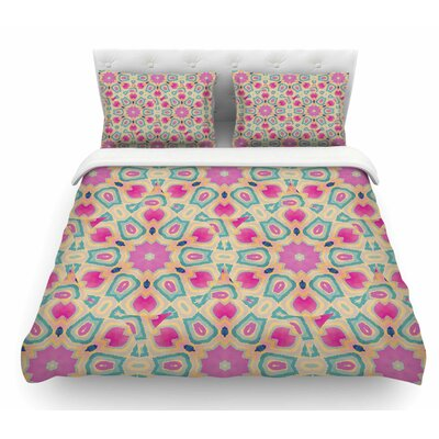 Arabesque by Nika Martinez Featherweight Duvet Cover Size: Twin