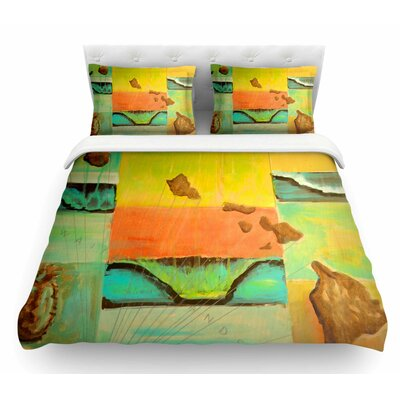 Origins by Nathan Gibbs Featherweight Duvet Cover Size: Twin